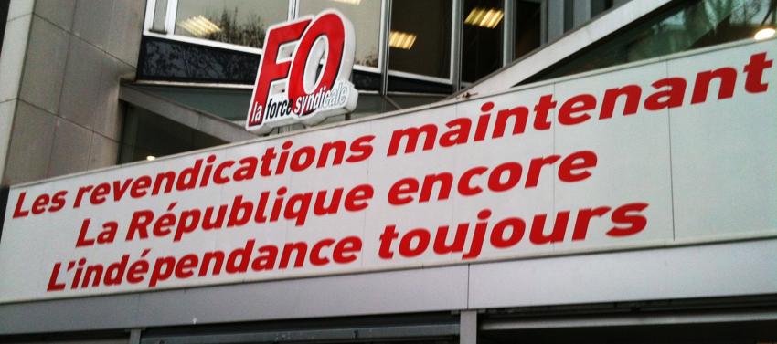 Confédération_FO_Une